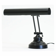"AP14-41-7 House of Troy Advent 14"" Black Piano/Desk Lamp"