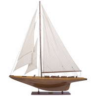 AS157 Authentic Models Shamrock Yacht Wood