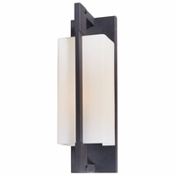 B4016FI Troy Hand-Worked Iron Exterior Blade 1Lt Wall Bracket Medium with Forged Iron Finish
