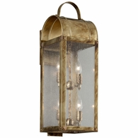 B5093HB Troy Solid Brass Exterior Bostonian 4Lt Wall Lantern Large with Historic Bronze Finish