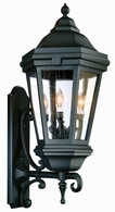 BCD6834ABZ Troy Cast Aluminum Exterior Verona 3Lt Wall Lantern Extra Large with Antique Bronze Finish