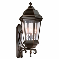 BCD6836ABZ Troy Cast Aluminum Exterior Verona 4Lt Wall Lantern Extra Extra Large with Antique Bronze Finish