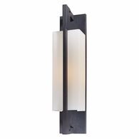 BF4015FI Troy Hand-Worked Iron Exterior Blade 1Lt Wall Bracket Flourescent Large with Forged Iron Finish