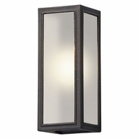 BL5101 Troy Solid Aluminum Exterior Dixon 1Lt Wall Lantern Led Small with Vintage Bronze Finish