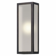 BL5103 Troy Solid Aluminum Exterior Dixon 1Lt Wall Lantern Led Large with Vintage Bronze Finish
