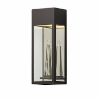 BL5112 Troy Solid Aluminum Exterior Trousdale 1Lt Wall Lantern Led Medium with Bronze Finish