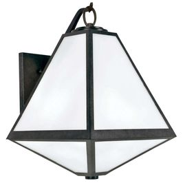 GLA-9702-OP-BC Crystorama Brian Patrick Flynn for Crystorama Glacier Outdoor 3 Light Wall Mount