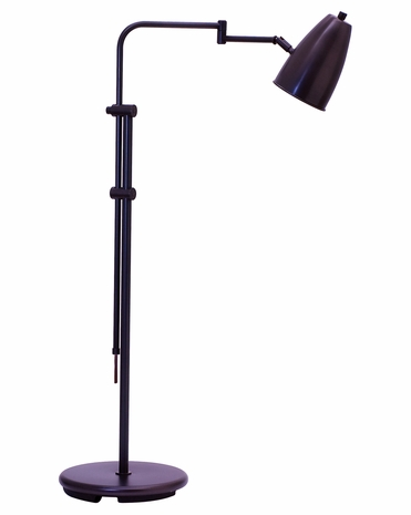 "C100-OB House of Troy Adjustable 36""-50"" Oil Rubbed Bronze Floor Lamp"