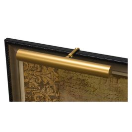 """C16-1 House of Troy Contemporary 16"""" Gold Picture Light"""
