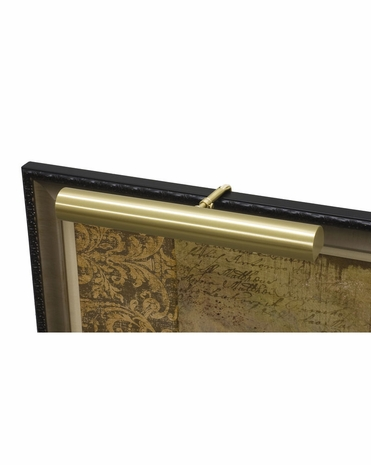 """C16-51-CA House of Troy Contemporary 16"""" CA Compliant Satin Brass Picture Light"""