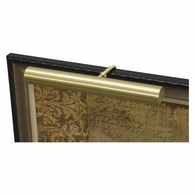 "C16-51 House of Troy Contemporary 16"" Satin Brass Picture Light"