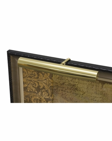 "C16-61-CA House of Troy Contemporary 16"" CA Compliant Polished Brass Picture Light"