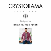 CAP-8503-MK-TG Crystorama Brian Patrick Flynn for Crystorama Capsule Outdoor 2 Light Ceiling Mount