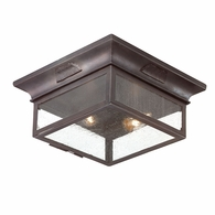CCD9000OBZ Troy Hand-Forged Iron Exterior Newton 2Lt Flush with Old Bronze Finish