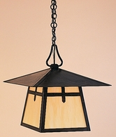 "CH-15 Arroyo Craftsman 15"" Carmel Pendant With Bungalow Overlay"