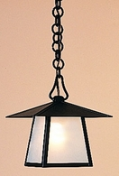"CH-8 Arroyo Craftsman 8"" Carmel Pendant With Bungalow Overlay"