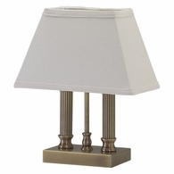 """CH876-AB House of Troy Coach 12.5"""" Antique Brass Table Lamp"""