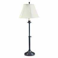 CL250-OB House of Troy Club Adjustable Oil Rubbed Bronze Table Lamp