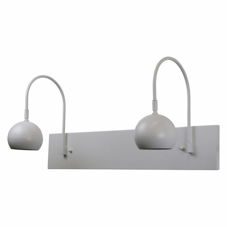 DHA24-WT House of Troy Direct Wire Halo double shade LED picture light in white