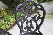 Dl28 Darlee Hampton Bistro Set Table and Two Chairs
