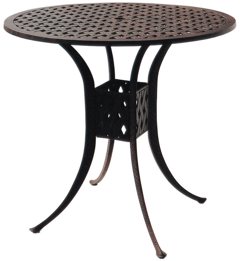Dl30 F Darlee 42 Round Bar Patio Table, 42 Patio Table
