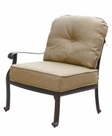 DL705-1 Darlee Classic Elisabeth Sectional Left-facing Arm Chair in Antique Bronze