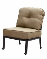 DL705-2 Darlee Classic Elisabeth Sectional Center Chair in Antique Bronze