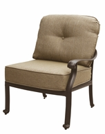 DL705-3 Darlee Classic Elisabeth Sectional Right-facing Arm Chair in Antique Bronze