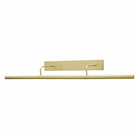 """DSL36-51 House of Troy Direct Wire Slim-Line 36"""" Satin Brass Picture Light"""