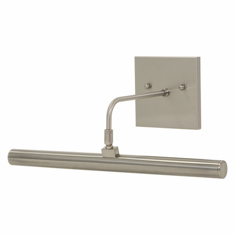 """DSLEDZ14-52 House of Troy Direct Wire Slim-Line LED 14"""" Satin Nickel Picture Light"""