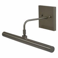 "DSLEDZ14-91 House of Troy Direct Wire Slim-Line LED 14"" Oil Rubbed Bronze Picture Light"