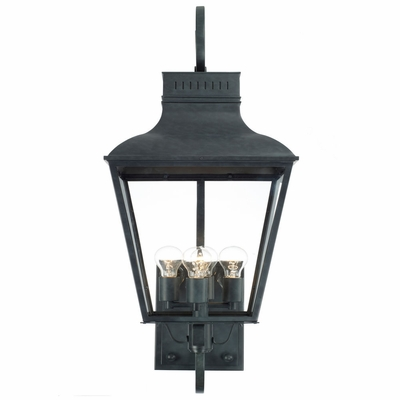 DUM-9804-GE Crystorama Dumont Outdoor 4 light Wall Mount