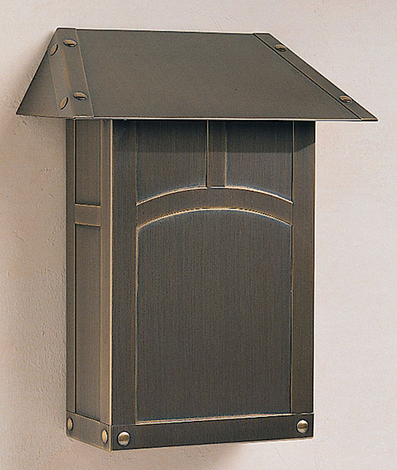 EMB Arroyo Craftsman Evergreen Mail Box-Vertical