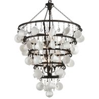 F3826 Troy Exterior Barista 12Lt Pendant Entry Large with Vintage Bronze Finish