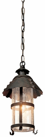F8324NB Troy Lighting Camelot 1 Light Pendant in Natural Bronze Finish
