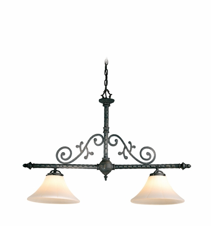 F8412AI Troy Lighting Chambord Interior 2light Island