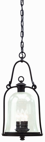 F9467 Troy Lighting Owings Mill Three-Light Outdoor Pendant