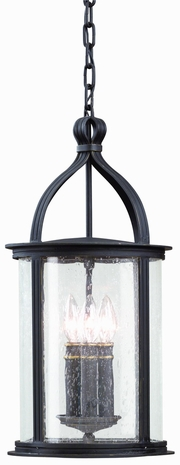 F9476 Troy Lighting Scarsdale Three-Light Outdoor Pendant