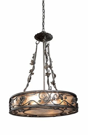 F9674OS Troy Lighting Montrachet Interior 4light Pendant