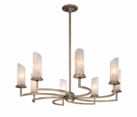 F9688 Troy Lighting Orion Chandelier