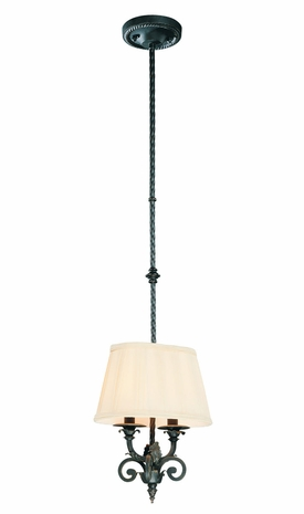 F9761FBK Troy Lighting Portofino Interior 2light Mini-pendant
