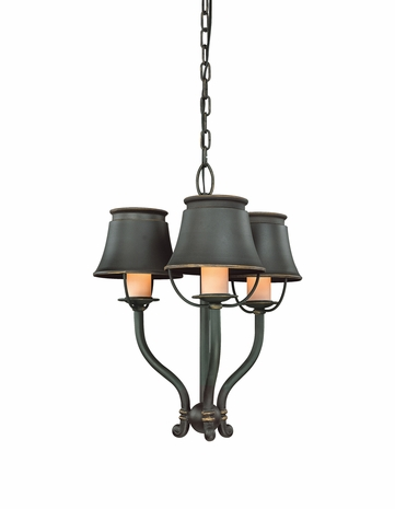 F9843 Troy Lighting Madison Three-Light Mini Chandelier