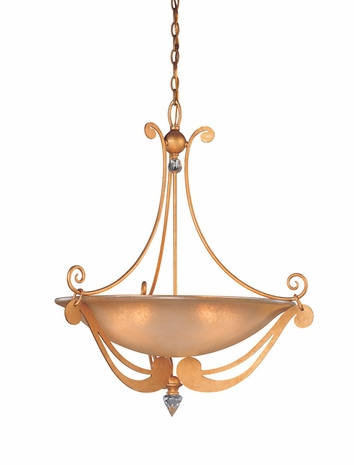F9946 Troy Lighting Milano Five-Light Pendant