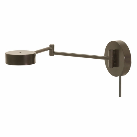 G475-ABZ House of Troy Generation LED Swing Arm Wall Lamp in Architectural Bronze