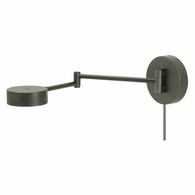 G475-GT House of Troy Generation LED Swing Arm Wall Lamp in Granite