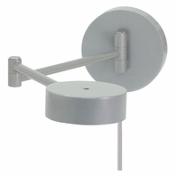 G475-PG House of Troy Generation Swing Arm Wall LED Lamp in Platinum Gray