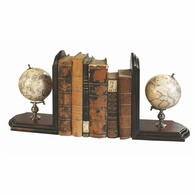 GL009F Authentic Models Globe Bookends