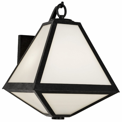 GLA-9722-OP-BC Crystorama Brian Patrick Flynn Crystorama Glacier Outdoor 2 Light Wall Mount