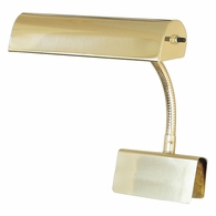 "GP10-61 House of Troy Grand Piano Lamp 10"" Polished Brass"