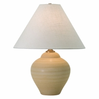 "GS130-OT House of Troy Scatchard 21.5"" Stoneware Table Lamp in Oatmeal"